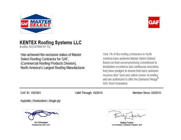 Facts & Info - KENTEX Roofing Systems, LLC